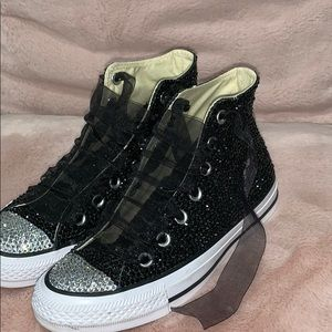 5bb4ef87ffe1ce Converse   Swarovski Shoes on Poshmark